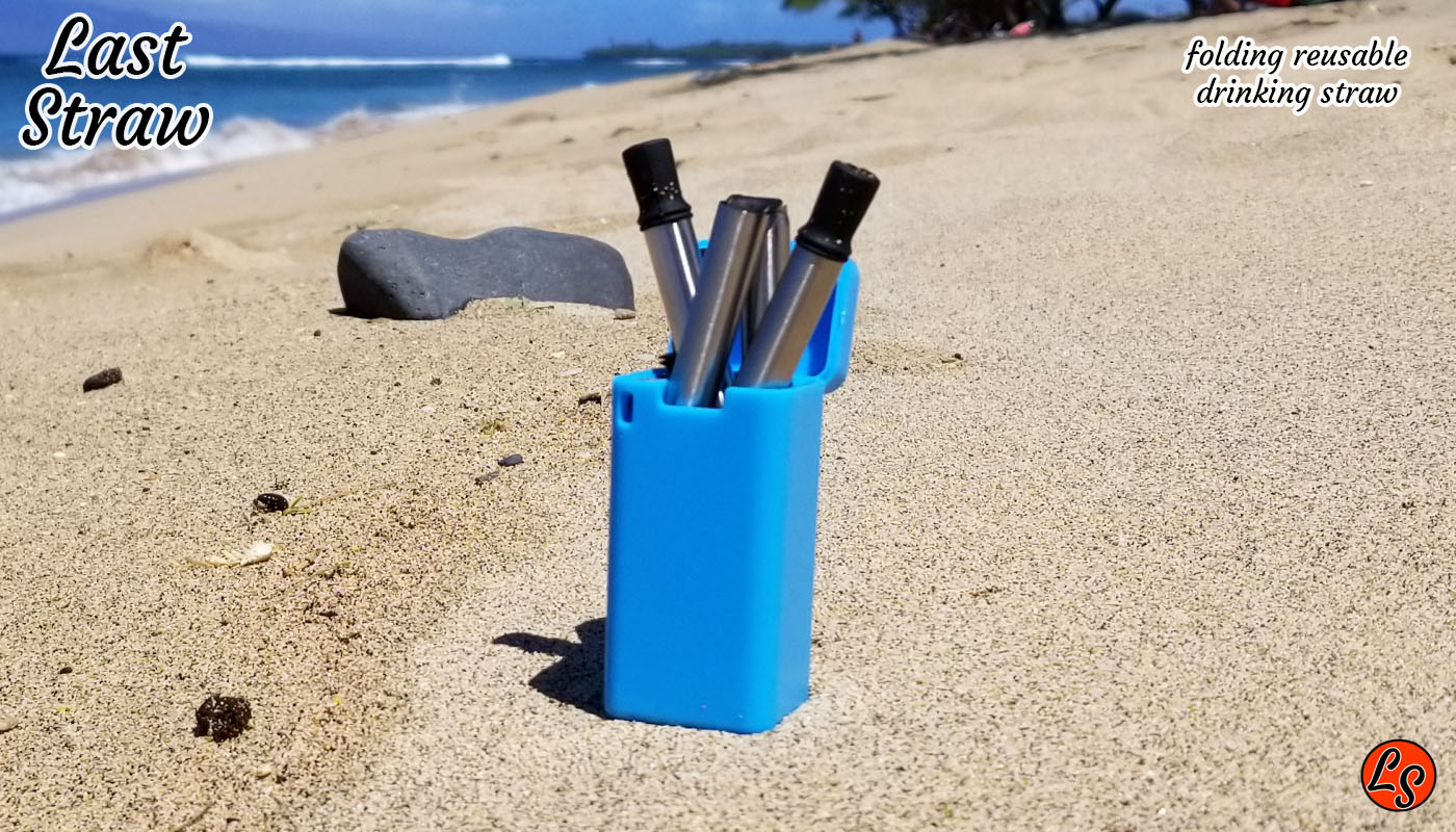 Blue folding drinking straw | folding drinking straw for wholesale bulk | Folding Drinking Straw | Wholesale Retail | Inexpensive Folding Straw | The Last Straw | The final straw you will ever need.