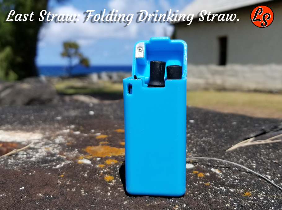 wholesale retail sales folding reusable drinking straw| Blue folding drinking straw for wholesale bulk | Folding Drinking Straw | Wholesale Retail | Inexpensive Folding Straw | The Last Straw | The final straw you will ever need.