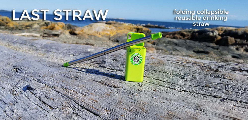 starbucks folding reusable drinking straw